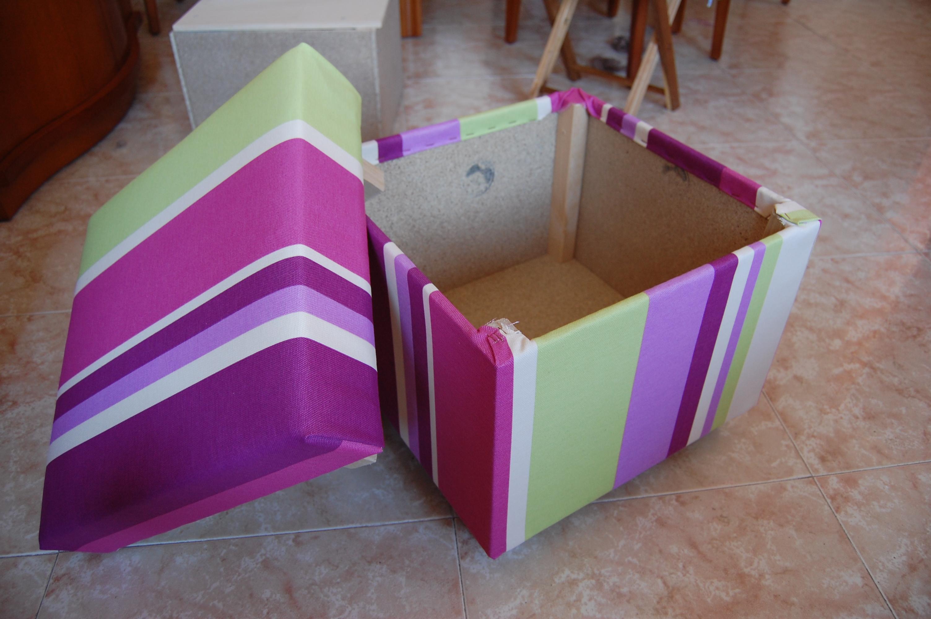 Как сделать коробку для игрушек фото 56