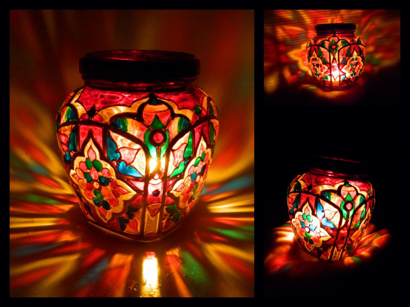 Садовый фонарь из стеклянной банки 93