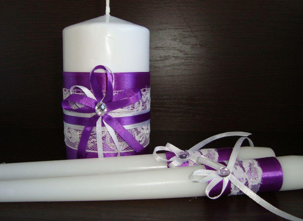 Свечи украшенные лентами своими руками фото 387