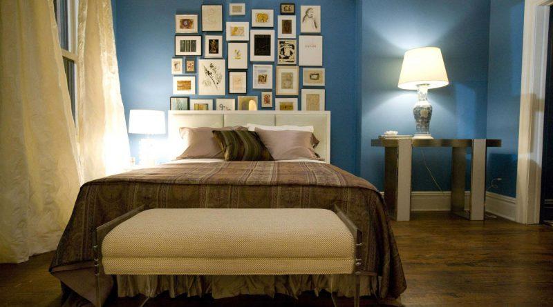 Нюансы оформления маленькой темной спальни: выбор отделки и мебели (+42 фото)