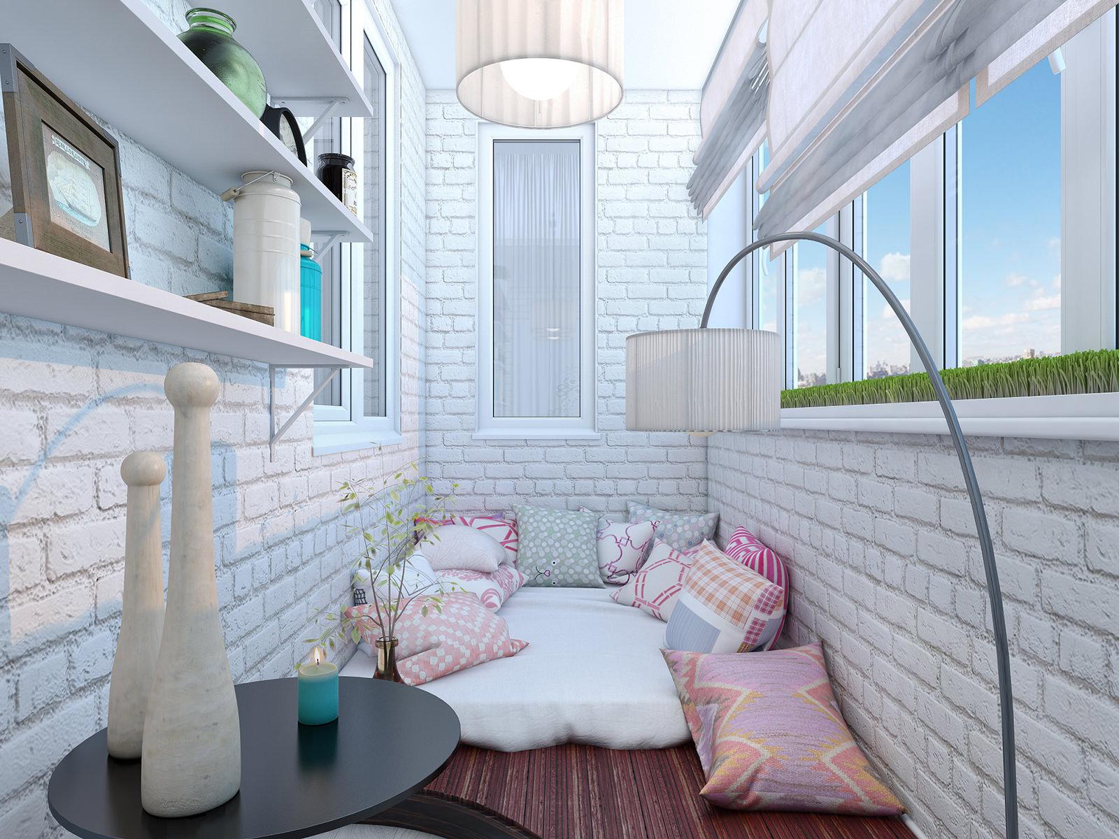 Дизайн балкона (41 фото).