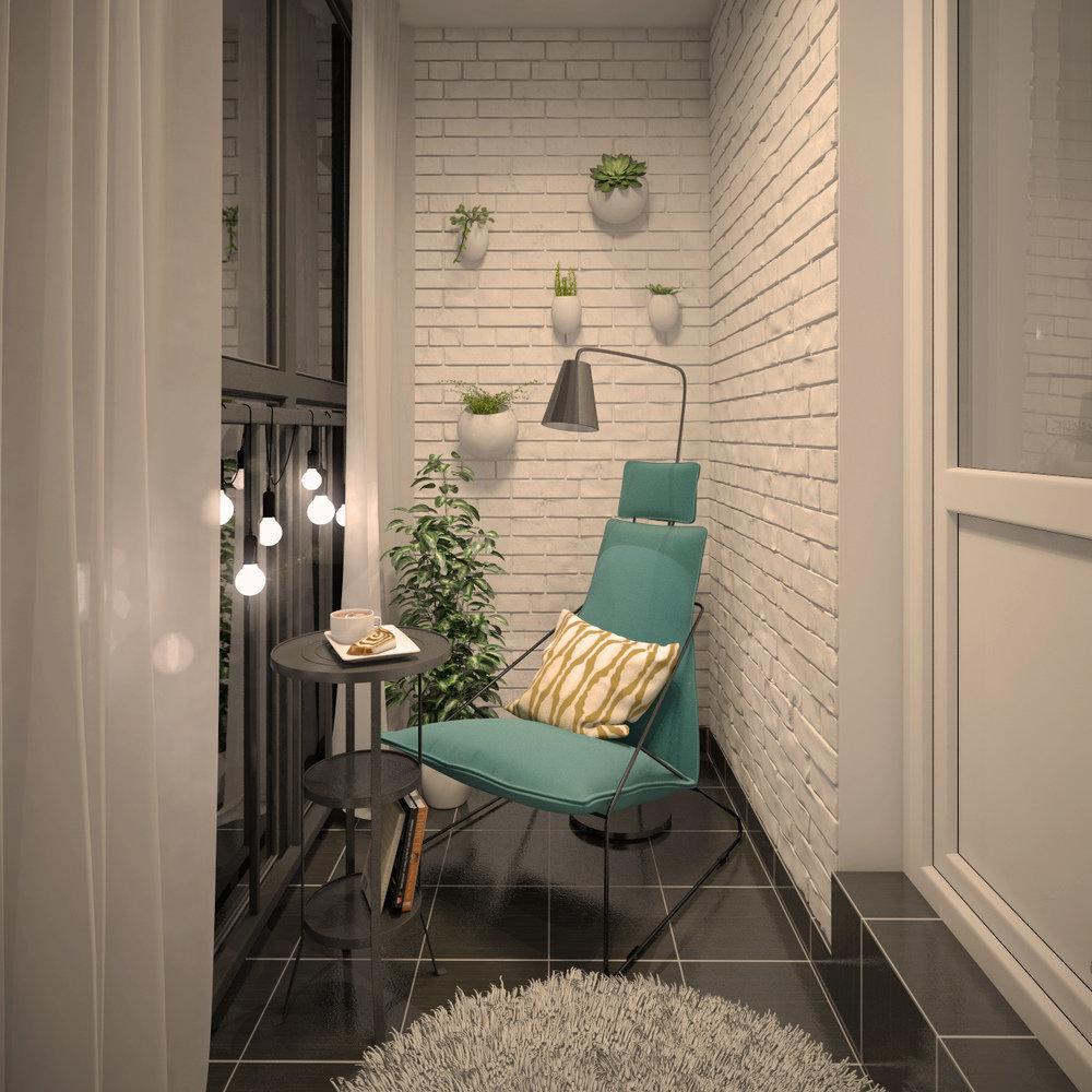 Лоджия в квартире - 100 фото идей безупречного оформления ин.