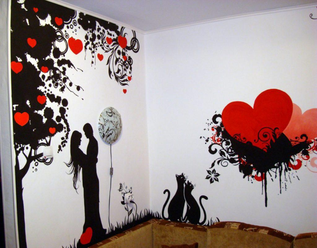 Красивый орнамент на стене: советы по нанесению изображения