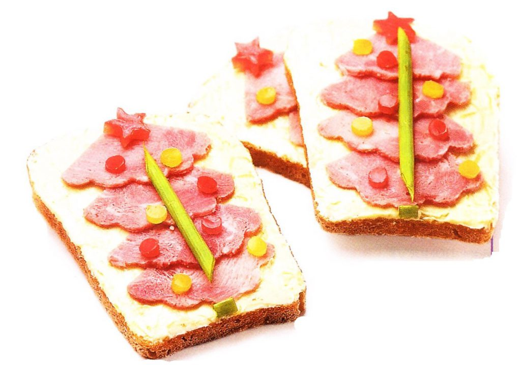 Бутерброд елочка
