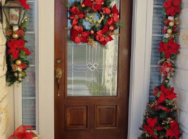 Как красиво украсить крыльцо к Новому году