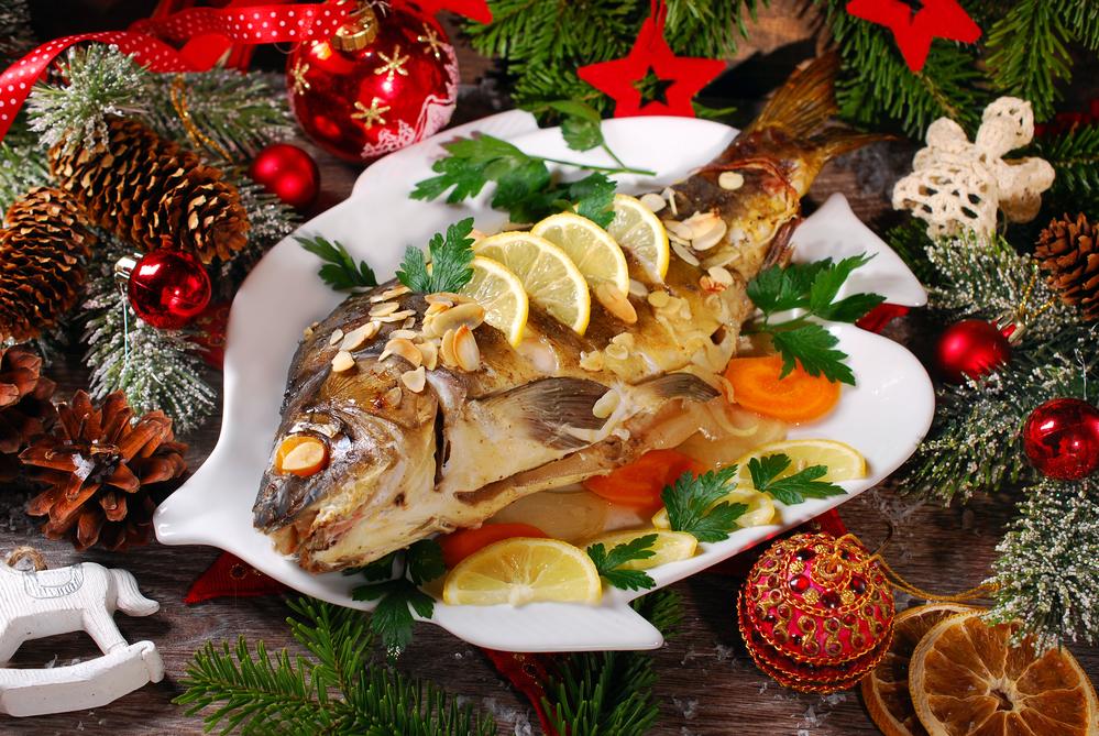Запеченная рыба на новый год 2018