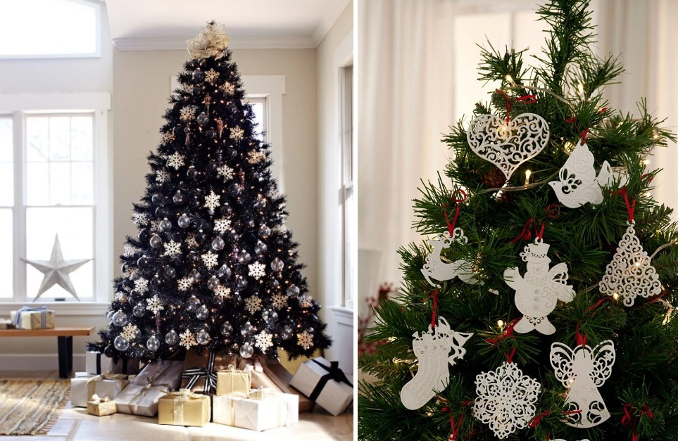 Как украсить елку к Новому 2018 году