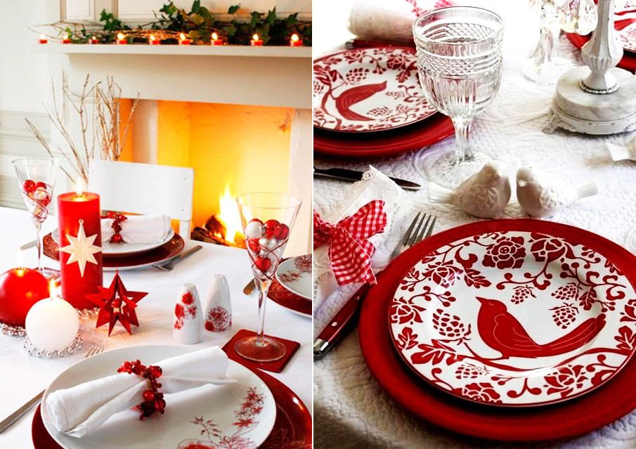 Выбор посуды для новогоднего стола