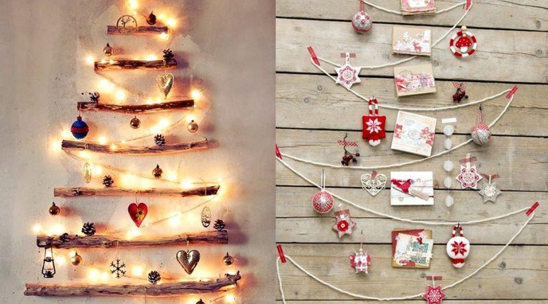 Как украсить стены в коридоре к Новому году