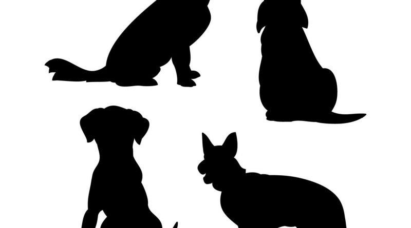 Трафареты собаки