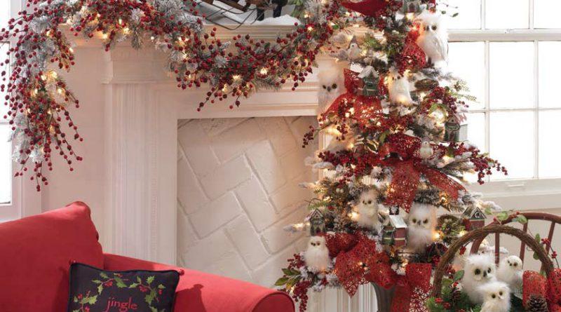 Вариант оформления зала к Новому году