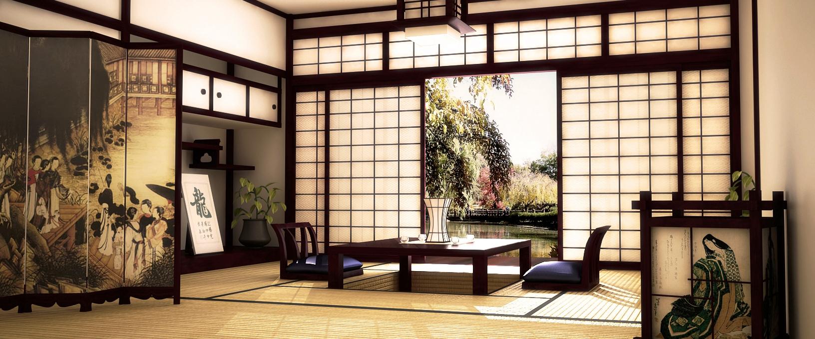 Как сделать японское окно