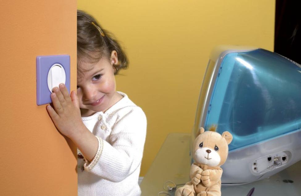 Как расположить выключатели в детской
