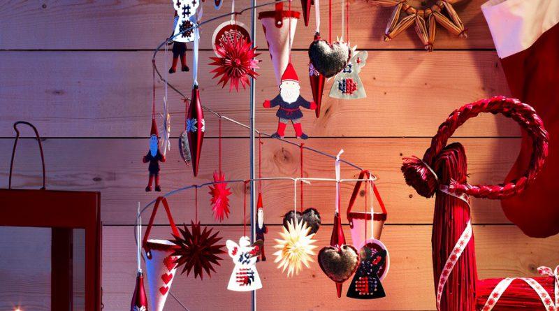 Декор к Новому году в скандинавском стиле