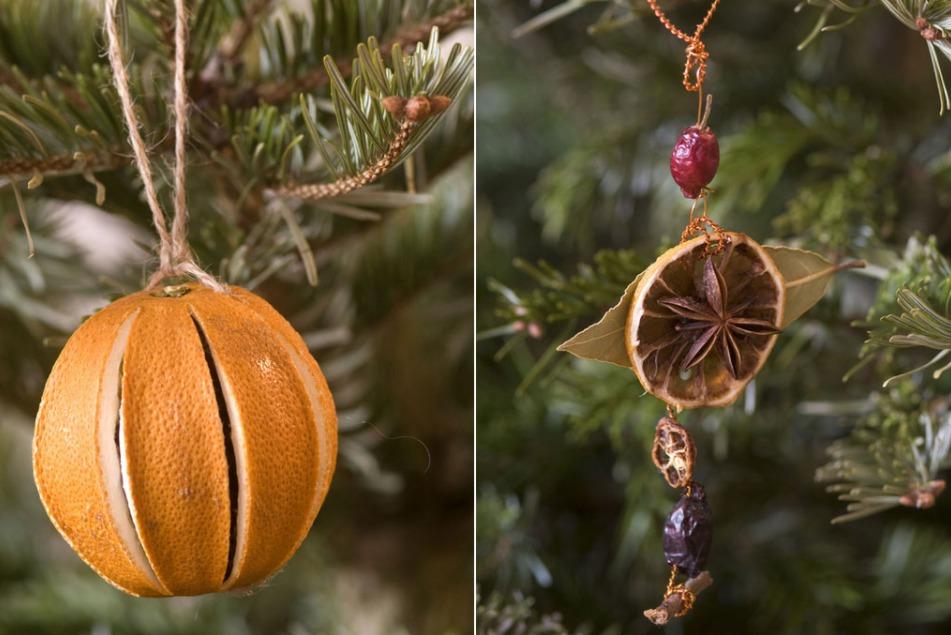 Украшения на елку из сушенных фруктов своими руками