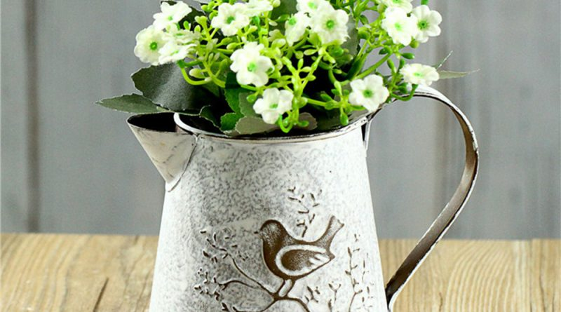 Ваза для цветов в стиле прованс