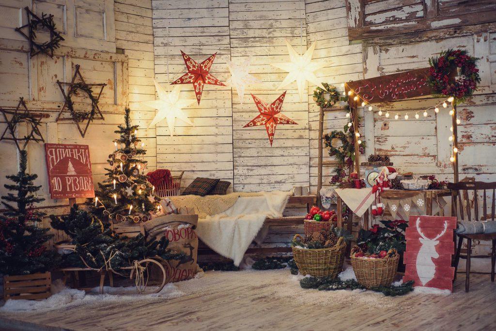 Новогодние украшения своими руками в скандинавском стиле
