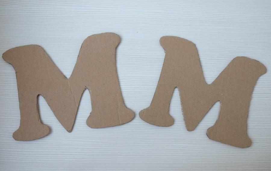 Шаблоны буквы на стену своими руками