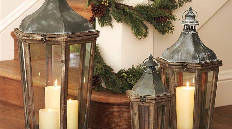 Как оригинально украсить дом к Новому году в стиле прованс