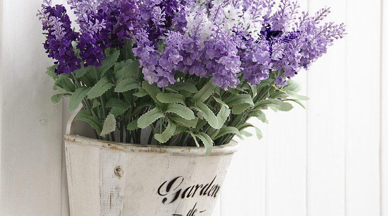Кашпо для цветов в стиле прованс