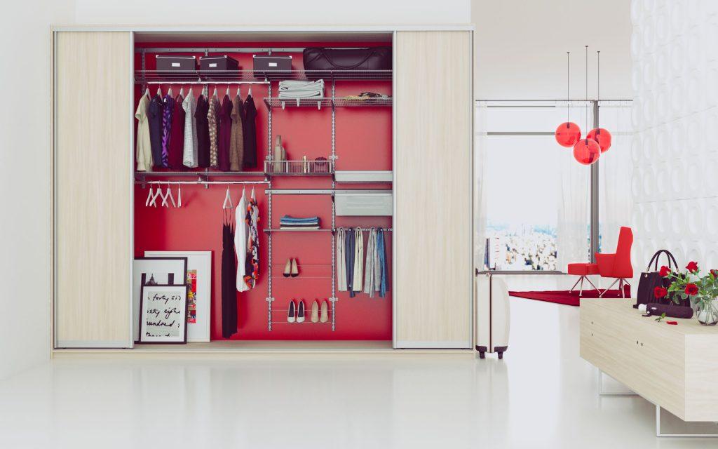 Настенная гардеробная система