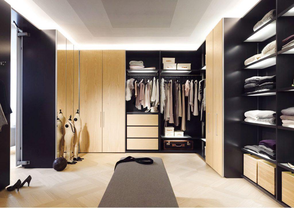 Модульная гардеробная система