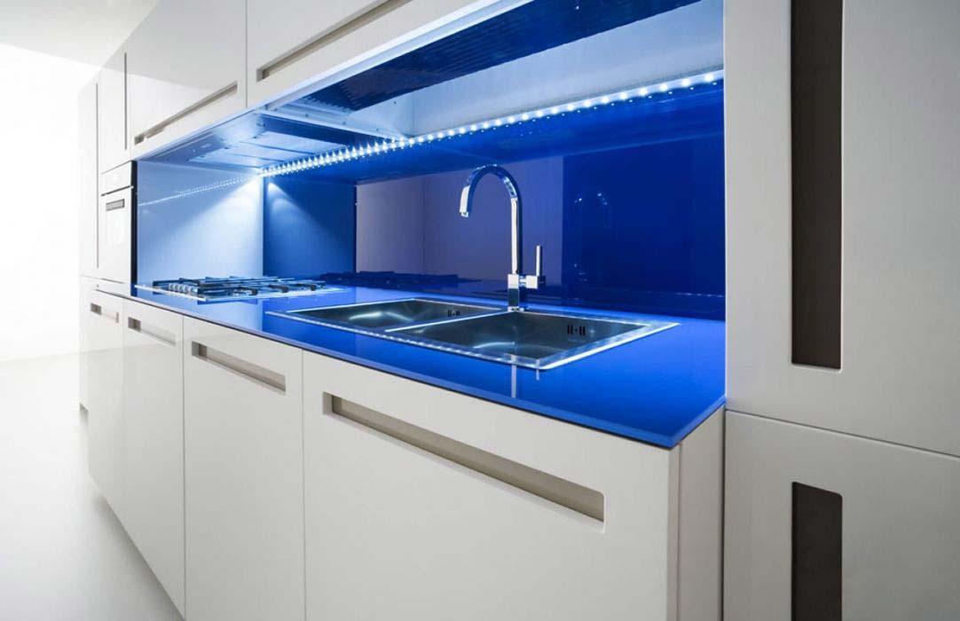 Iluminacion cocinas minimalistas