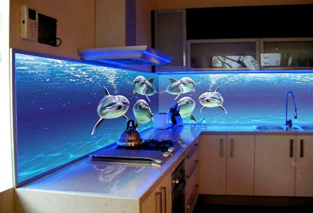 светящийся кухонный фартук