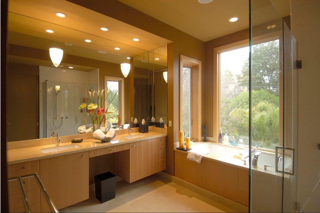 подсветка в ванной комнате