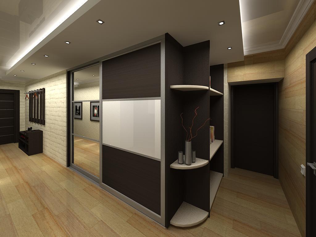 Гардеробная в коридоре фото дизайн