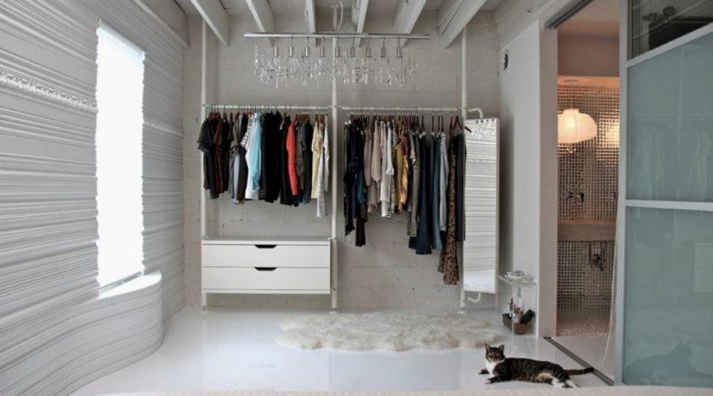Обустройство гардеробной в спальне: интересные идеи для разных условий |+84 фото