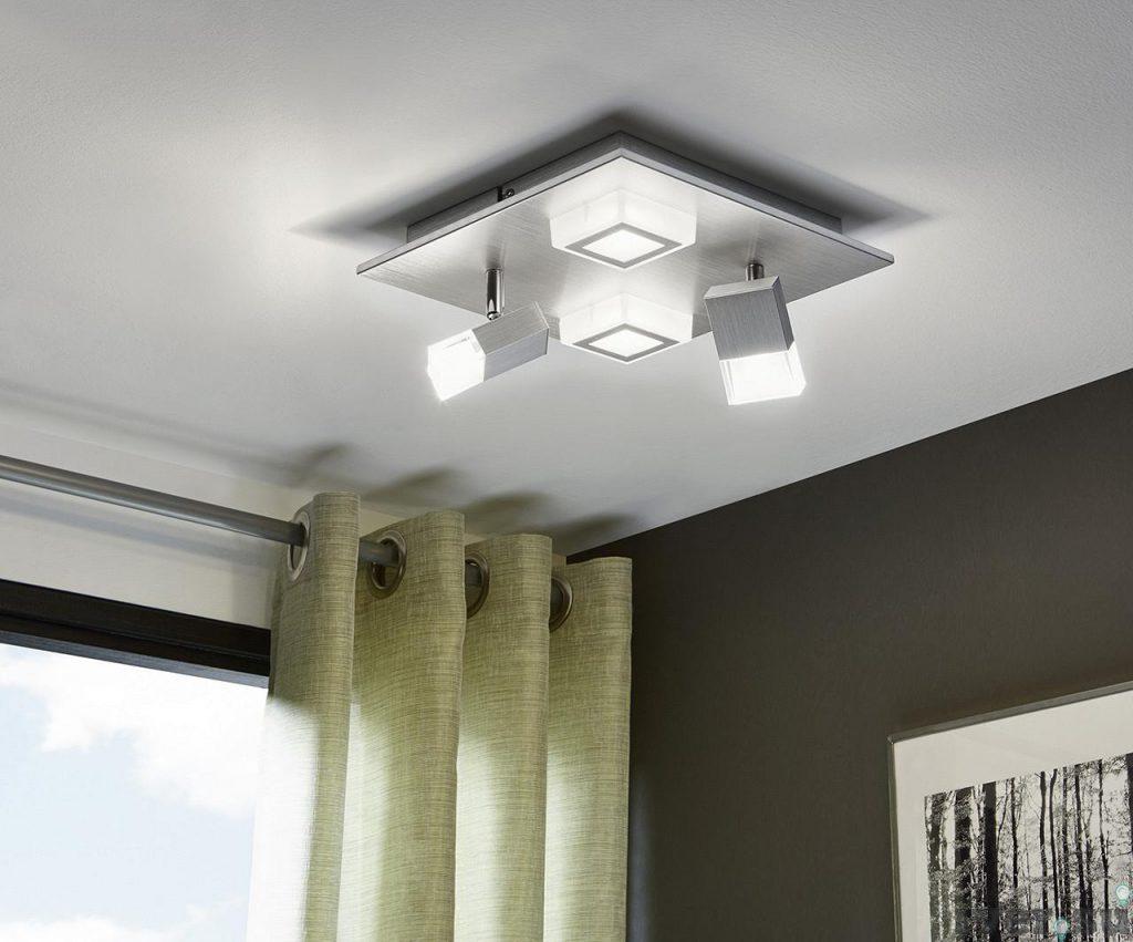 Выбор светильников для низкого потолка