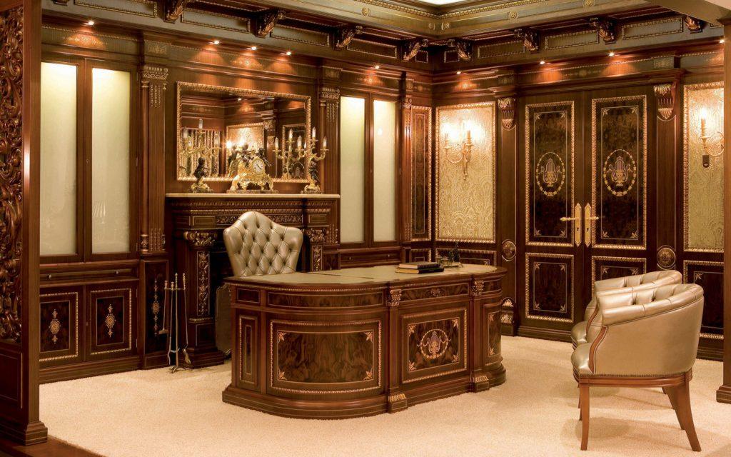 красивый стол и кресло