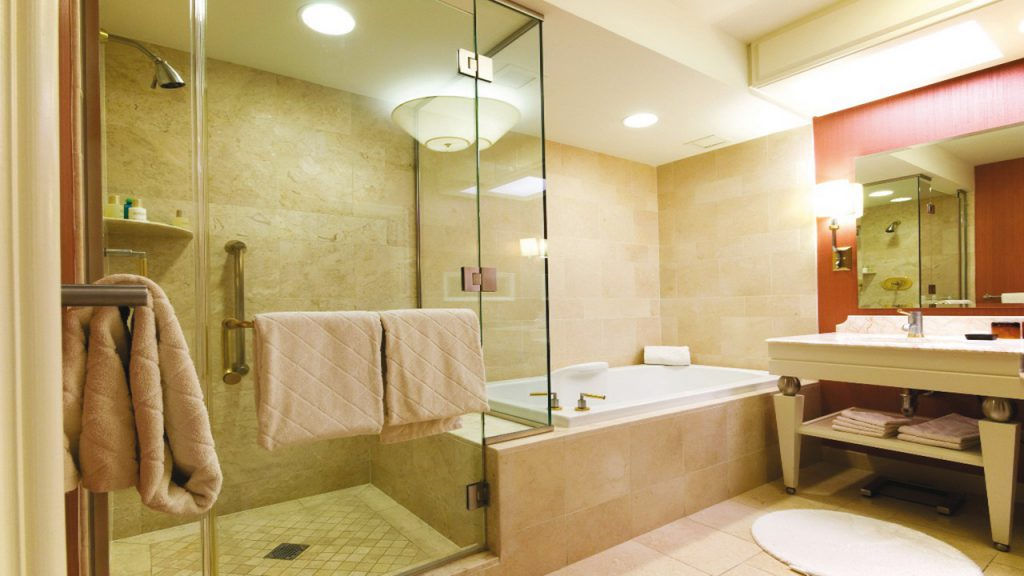 варианты освещения в ванной комнате