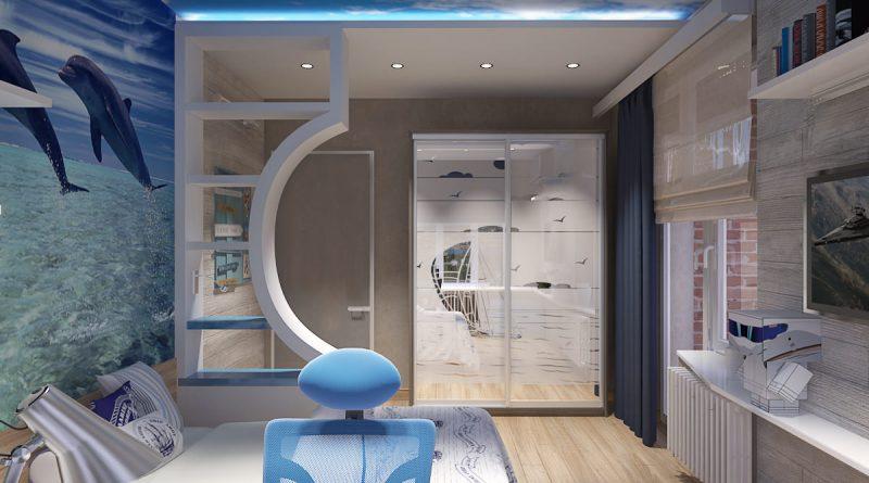 Квартиры в морском стиле♒ [креатив на 100%] +110 фото🔥
