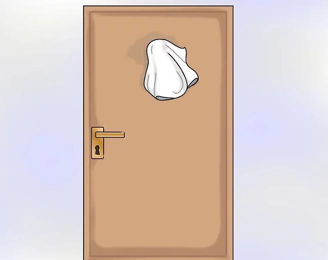 Как приклеить номер на дверь квартиры