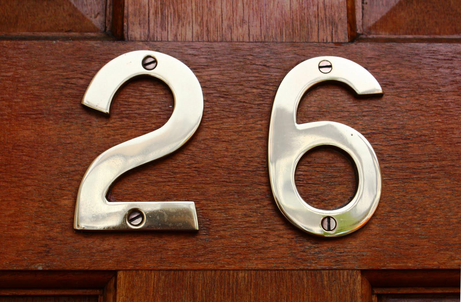 Номер квартиры своими руками фото 693