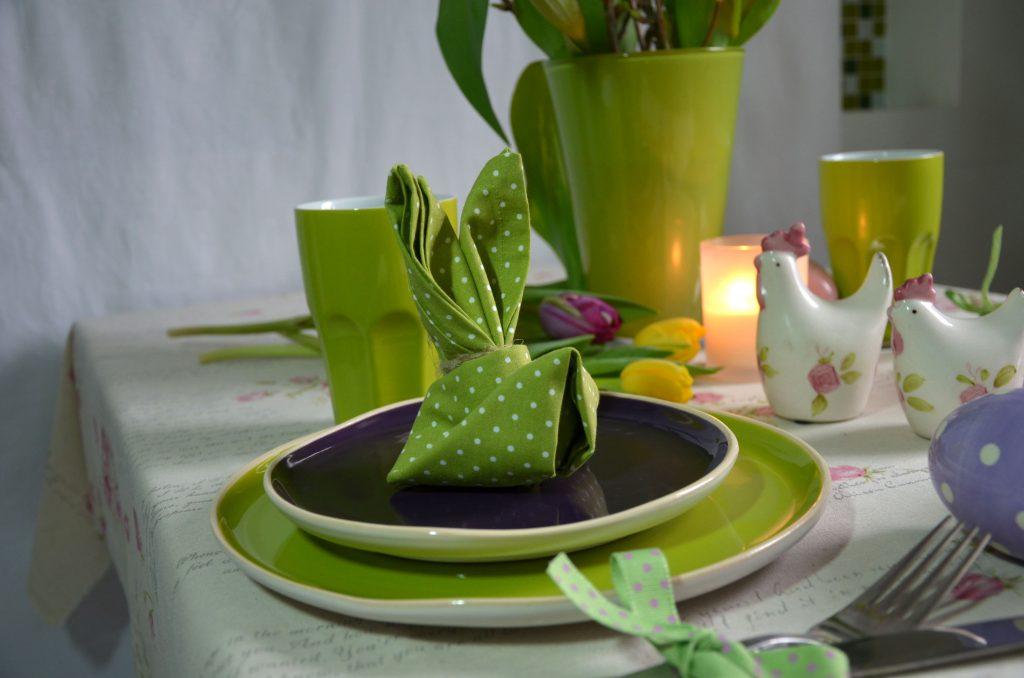 Как украсить чайный стол салфетками