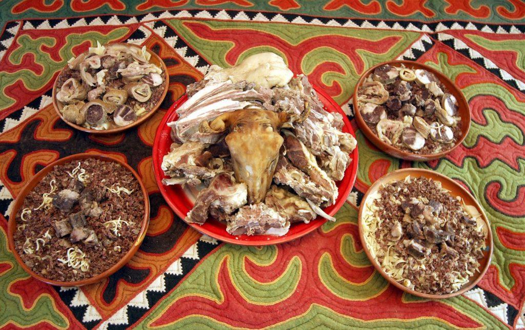 Казахские мясные блюда