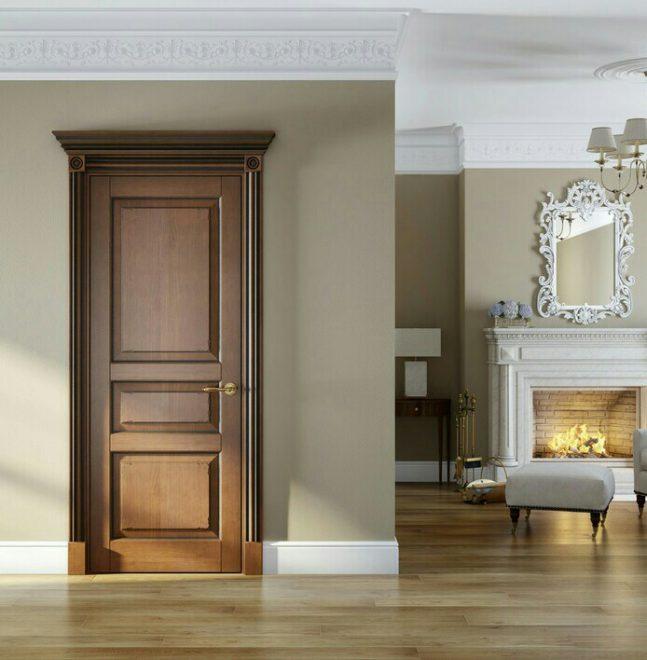 Гармоничное сочетание двери с интерьером