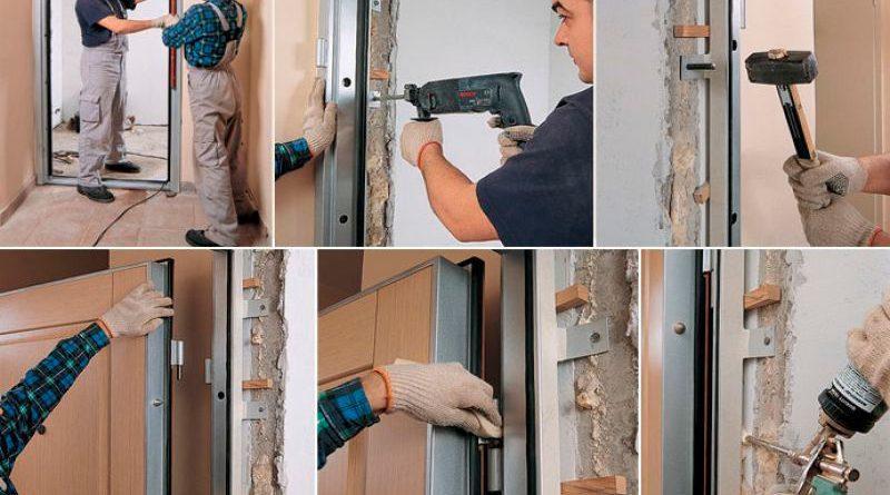 Как установить вторую деревянную входную дверь своими руками в ютубе 95