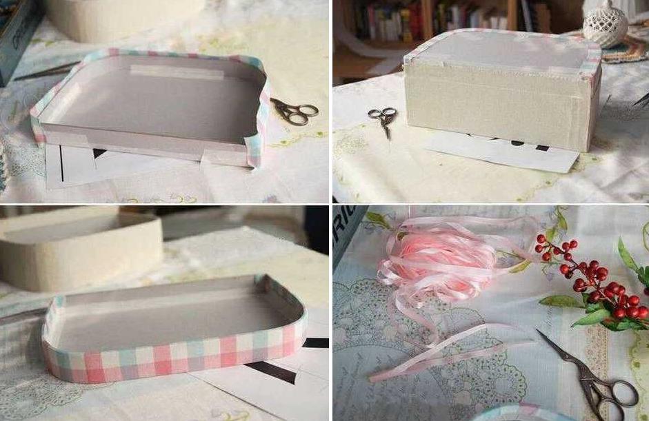Как сделать чемодан из картона своими руками