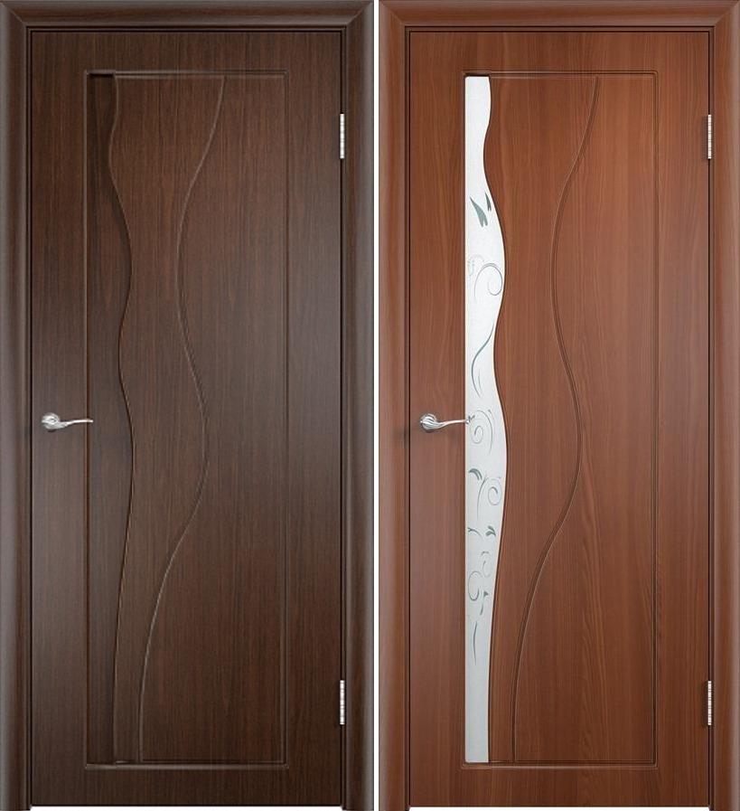 Двери венге Бриз