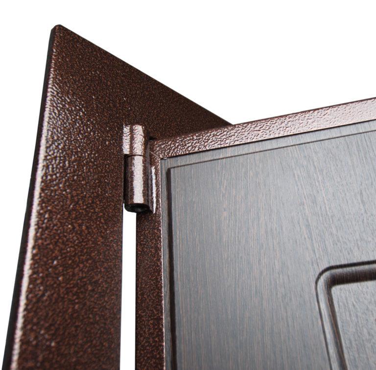 наружные петли на металлической двери