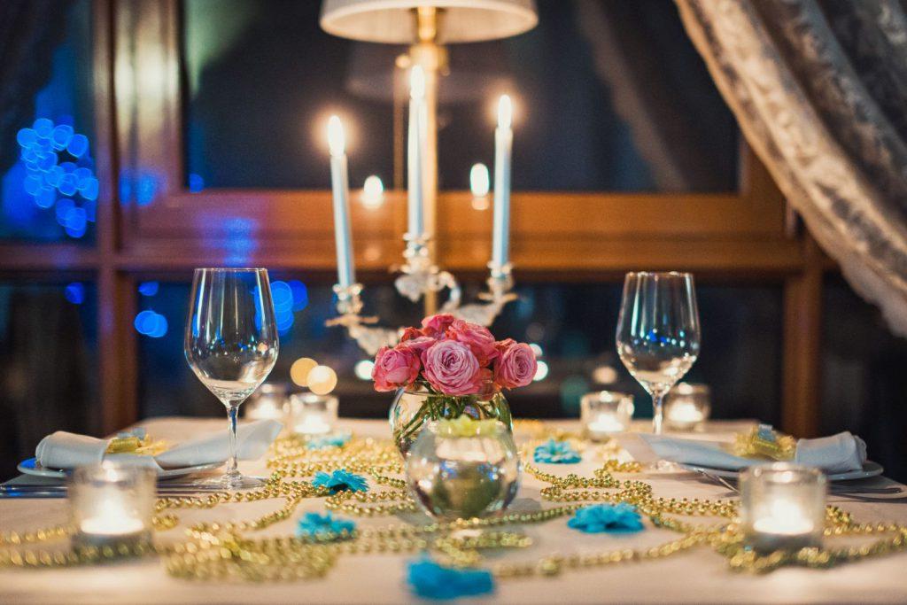 Сервировка стола во французском стиле