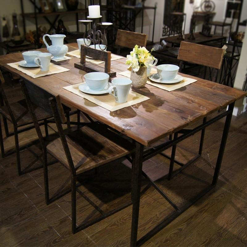 Сервировка стола в стиле лофт