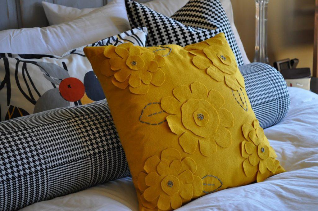 Декоративные подушки своими руками