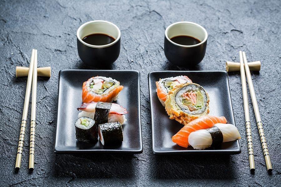 Сервировка стола в японском стиле