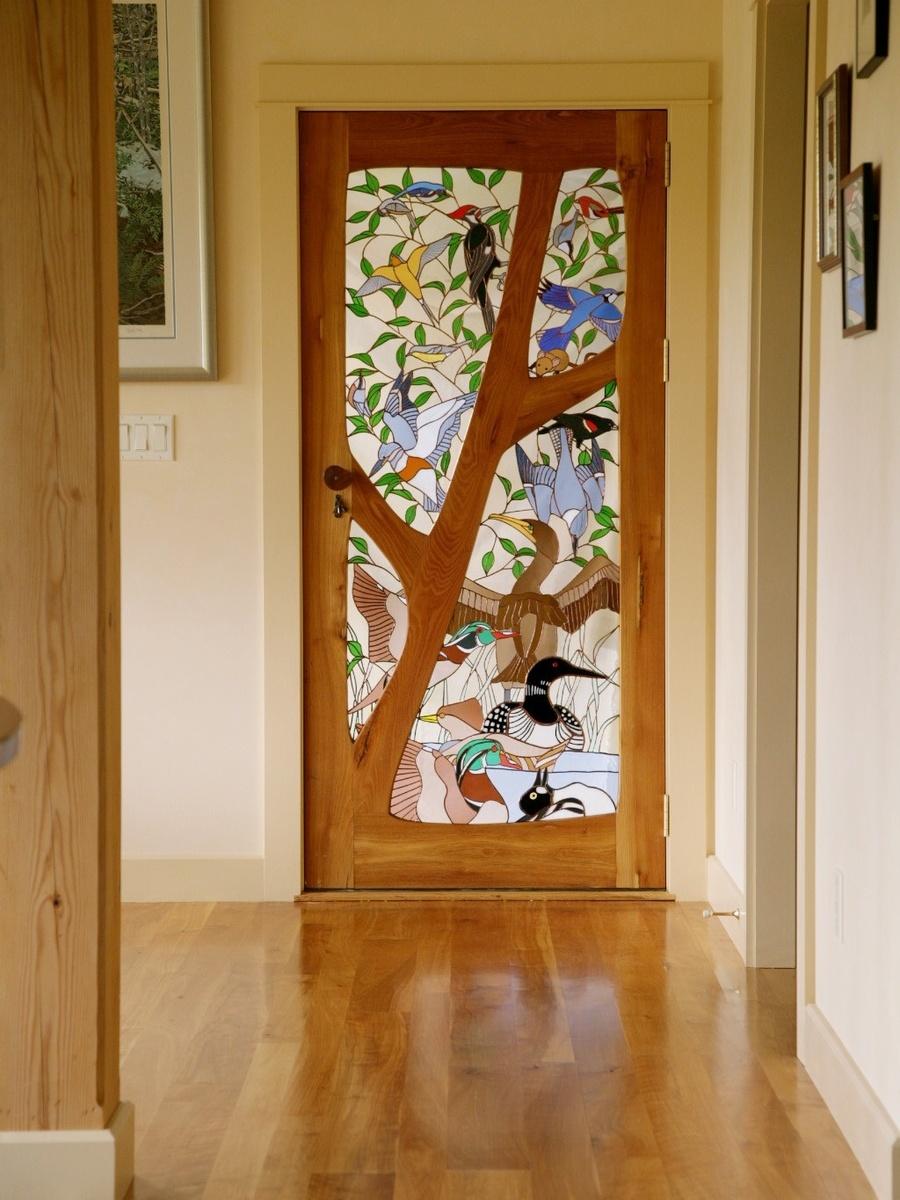 100 лучших идей: Декор двери своими руками на фото - Рататум 75