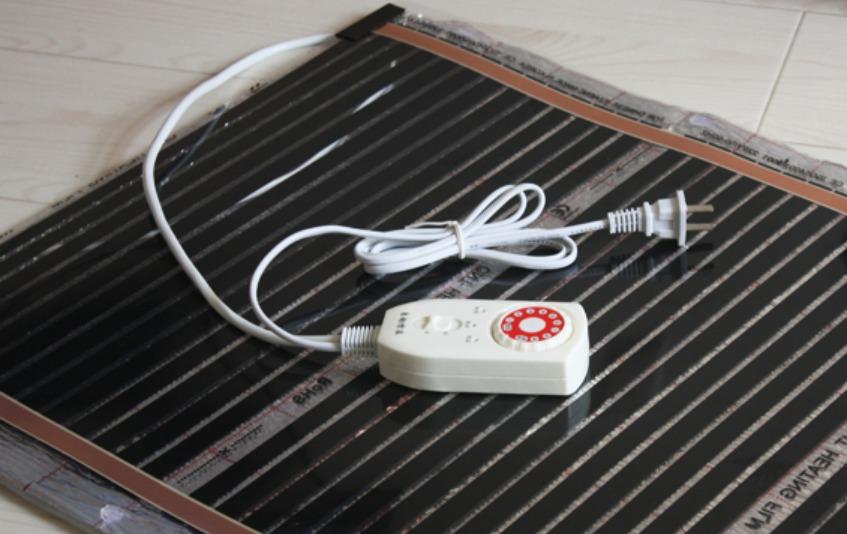Пленочный обогреватель для пола с терморегулятором